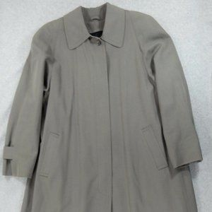 Brooks Brothers Zip Out Wool Liner Trench Coat